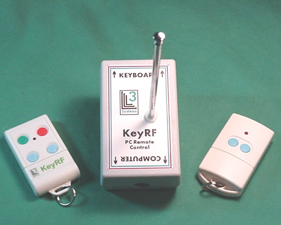 KeyRF Remote for Presentations, Press here for more info